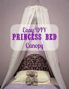 Diy Bed Canopy Easy Diy Princess Canopy Creative Ramblings