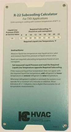 R22 Refrigerant Chart R 22 R22 Refrigerant Charging Chart Gauge Set Guide N Ebay