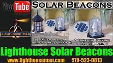 Beacon Lighting Share Price Lawn Lighthouse Solar Beacon Youtube
