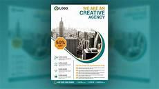 Unique Flyer Design Creative Business Flyer Design In Illustrator Cc Youtube
