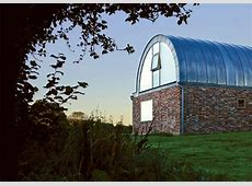 Hawthbush extension: a barrel vaulted house in the country   Home Extensions
