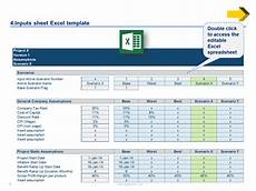 Financial Excel Template Financial Modeling Excel Templates Business Case