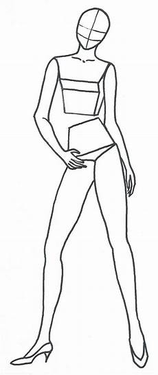 Body Templates For Designing Clothes My Road To Becoming A Fashion Designer Free Fashion