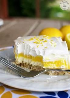 desserts lemon lemon lush dessert