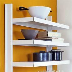 mensole e scaffali scaffale a parete in acciaio per cucina bianco grigio big 11