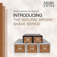 Kenra Color Chart Stylists The New Kenra Color Natural Brown Shades Series