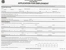 Pdf Job Application Download Burger King Job Application Form Careers Pdf