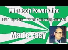 Smartart Organization Chart Powerpoint 2010 Creating An Organization Chart Org Chart In Powerpoint