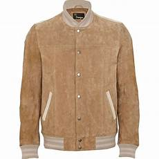 Light Brown Suede Jacket Mens River Island Light Brown Suede Leather Jacket In Brown For