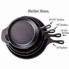 Frying Pan Size Chart Lodge 12 Inch Seasoned Cast Iron Skillet L10sk3