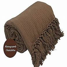 100 cotton honeycomb waffle sofa bed throw with