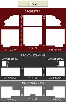 Richard Rodgers Theatre New York Ny Seating Chart Richard Rodgers Theater New York Ny Seating Chart