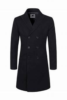 black coats for black solid breasted wool blend coats mens