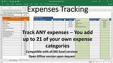 Business Expense Tracker Overhead Expense Template Small Business Expenses