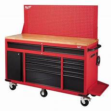tool chest rolling workbench 60 in 11 drawer 22 in d