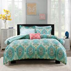 mainstays paisley bed in a bag comforter set