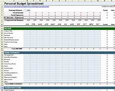Budget Expenses Spreadsheet Free Excel Budget Template Collection For Business And