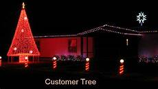 Christmas Light Show Kit Lowes 20 Mega Tree Kit For Outdoor Decorations Christmas