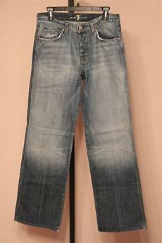 7 For All Mankind Men S Jeans Size Chart 7 For All Mankind Mens A Pocket Jeans Size 30 X 33 Ebay