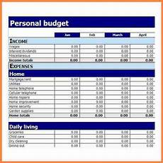 Microsoft Excel Budget 7 Microsoft Excel Budget Spreadsheet Budget Spreadsheet