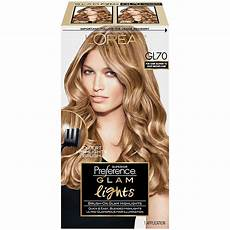 Glam Hair Color Light Brown L Oreal Paris Superior Preference Glam Lights Highlights