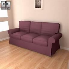 Ektorp Sofa Bed 3d Image by Ikea Ektorp Sofa 3d Model Furniture On Hum3d