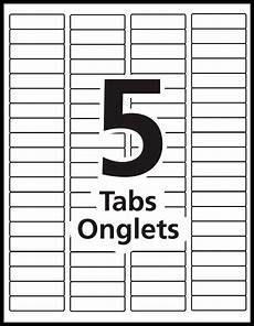 Tab Divider Template Word Index Maker Dividers Templates Avery