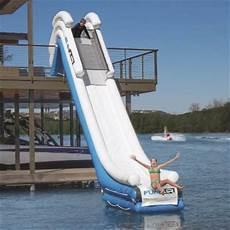 Floating Slide 15 Inflatable Dock Slide Frontgate