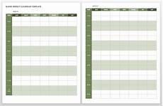 Free Calendar Templates For Word 15 Free Weekly Calendar Templates Smartsheet