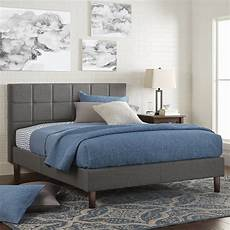 better homes gardens upholstered platform bed