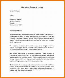 Sample Of Letter Of Solicitation For Donation 5 Donation Solicitation Letter Sales Slip Template