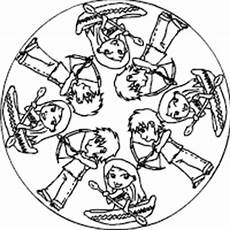 Malvorlagen Indianer Ring Indianer Mandala Im Kidsweb De