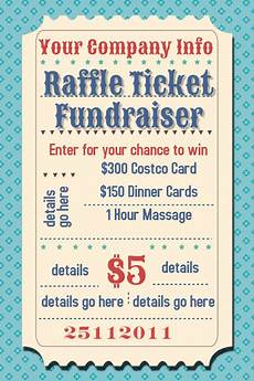Fundraising Ticket Template Raffle Ticket Fundraiser Movie Party Flyer Poster Template