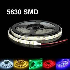 Amber Led Tape Light Dc12v 16ft 1 5m 5630 Waterproof 300 Led Light