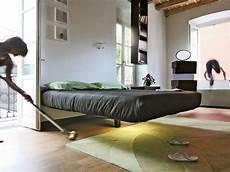 modern platform beds that float on air designs ideas