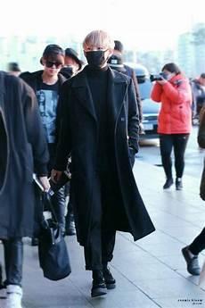 taehyung airport fashion army s amino