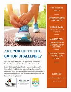 Walking Flyer Summer Season Of Gaitor Challenge Begins 187 Department Of