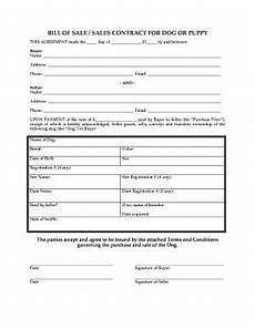 Puppy Contract Of Sale Fill Free Printable Puppy Contract Download Blank Or