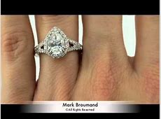 2.57ct Pear Shaped Diamond Engagement Anniversary Ring