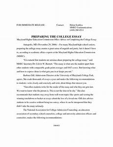 Sample College Application Essays Academic Essay Format Sample Writing Your Essay Unsw