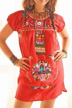 Mexican Designer Clothes Handmade Mexican Dress From Aida Coronado Mexican