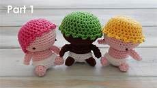 how to crochet my amigurumi baby pt 1