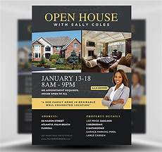 Real Estate Open House Flyers Open House Flyer Template 2 Flyerheroes