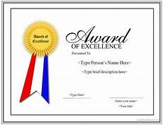 Template Of Award Certificate Free 13 Sample Certificates In Pdf Ms Word Psd