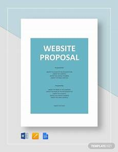 Ms Word Website Template Free 10 Website Design Proposal Templates In Ms Word