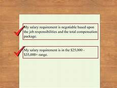 How To Present Salary Requirements Include Salary History On Resume Youtube