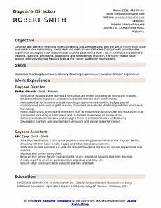 Resume For Child Care Director Director Daycare Resume Template Ipasphoto