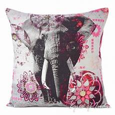 purple elephant colorful decorative bohemian sofa throw