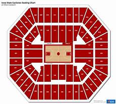 Iowa Basketball Seating Chart Hilton Coliseum Seating Charts Rateyourseats Com