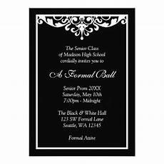 Formal Ball Invitations Business Party Invitations Corporate Event Invitations